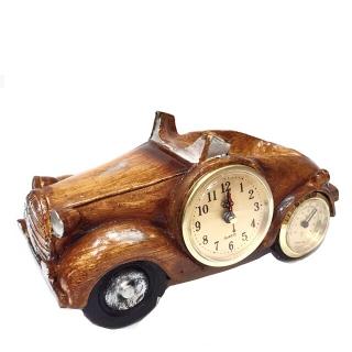 Masina cu ceas si suport sticla