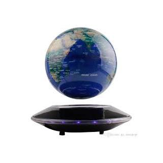 Glob pamantesc plutitor cu lumini Magic Globe