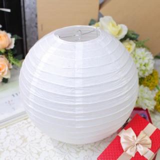 Lampion decorativ alb