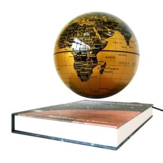 Glob plutitor pe carte