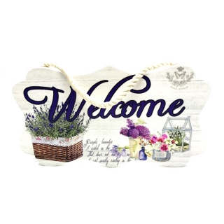 Decoratiune Welcome