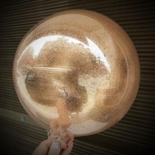 Baloane cu sclipici