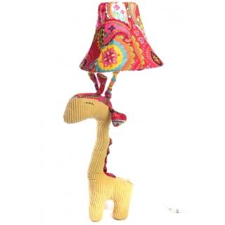 Veioza girafa galbena