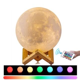Lampa Luna cu telecomanda