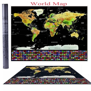 Harta razuibila tarile lumii