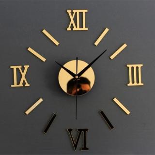 Ceas perete DIY, cu cifre romane