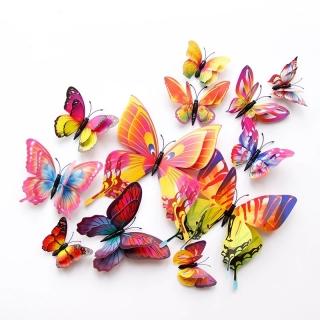 Fluturi cu magnet si auto-adeziv
