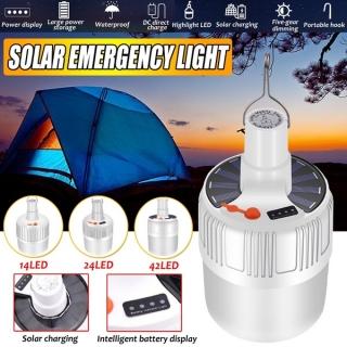 Lampa solara pentru camping