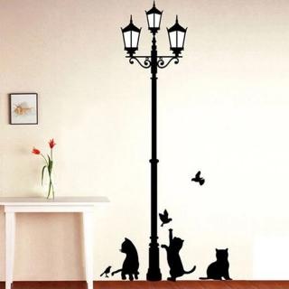 Sticker decorativ cu pisici