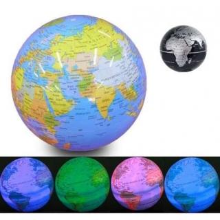 Glob pamantesc iluminat