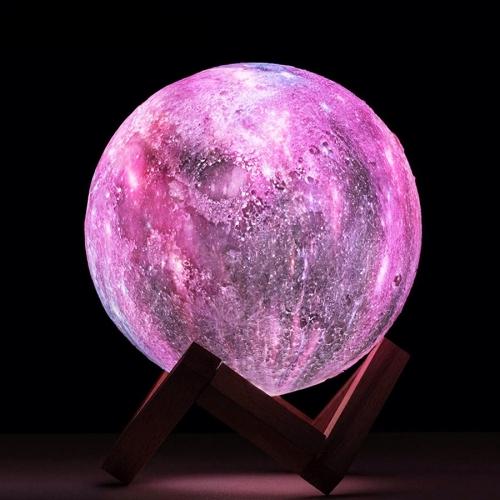 Lampa Luna 3D Galactica