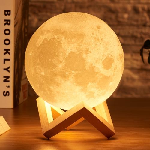 Lampa luna cu suport