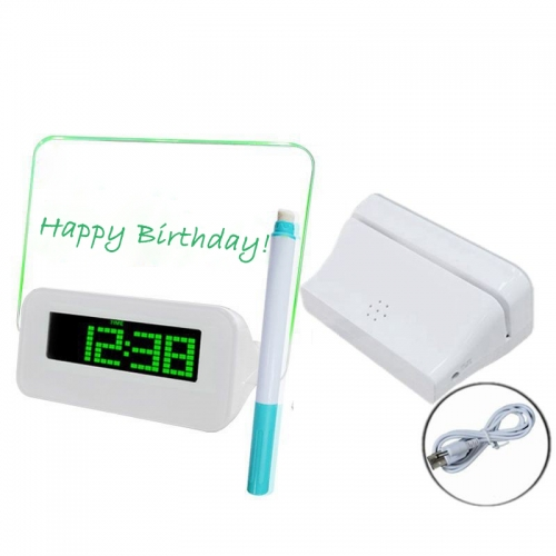 Clock Message Board