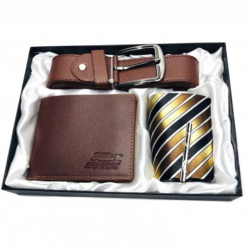 Set cadou cu portofel,cravata si curea
