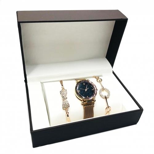 Set cadou dama cu ceas Luxury