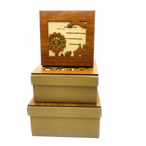 Set 3 cutii cadou elegante