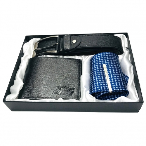 Set cadou barbati cu portofel