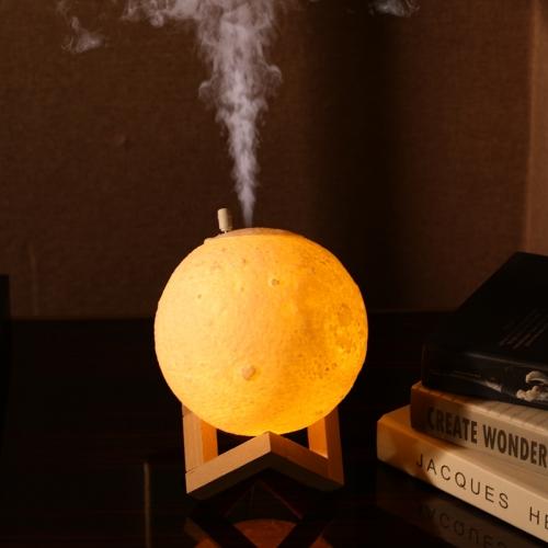 Lampa Luna cu difuzor aromaterapie