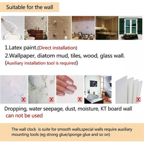 Ceas perete DIY