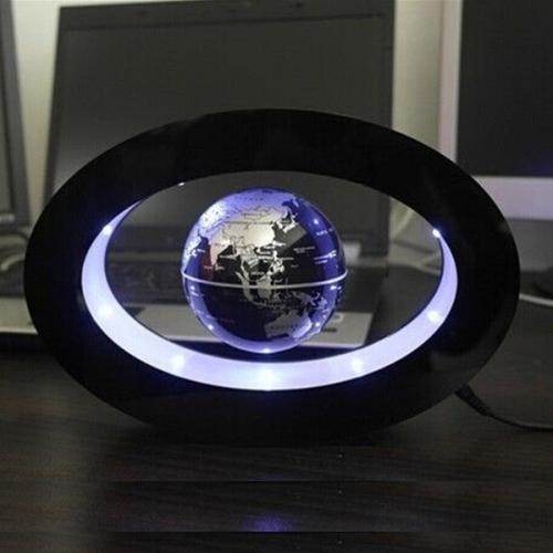 Glob levitant iluminat