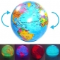 Glob geografic auto-rotativ cu lumini